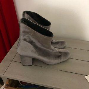 Free people velvet boots